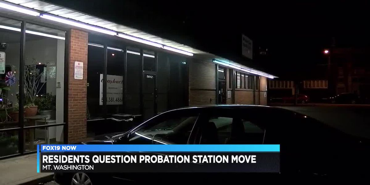 Residents question probation station move
