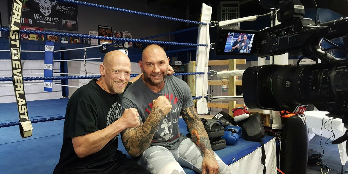 Actor and MMA fighter Dave Bautista stops by new Madisonville gym