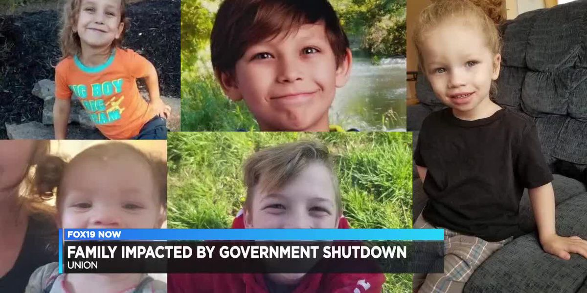 Family impacted by government shutdown