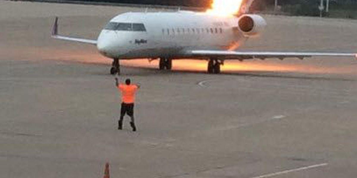 Flames cancel Cincinnati-bound flight from Nashville