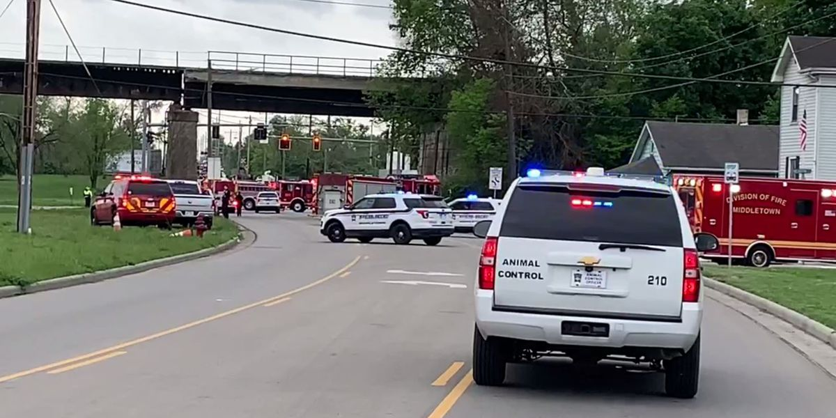 Man critically injured after vehicle runs into gas line in Middletown