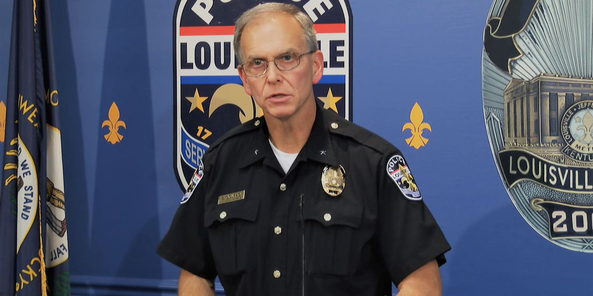 LMPD Chief Conrad fired amid mounting civil unrest