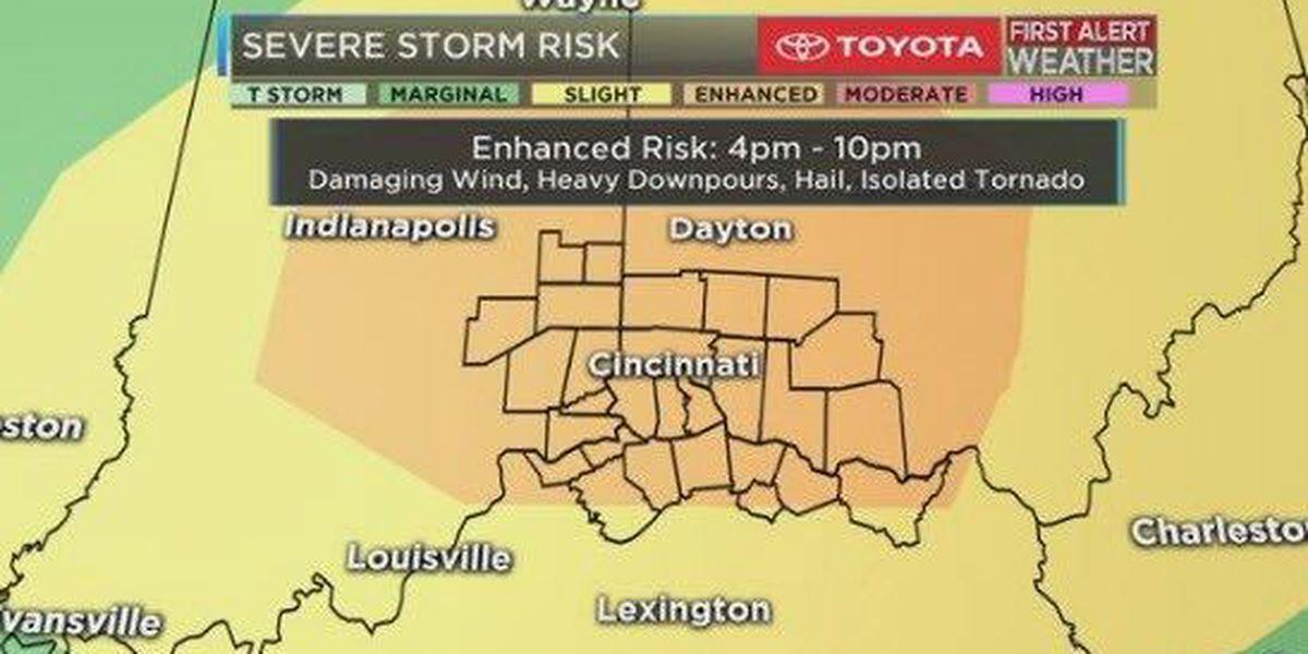 LIVE: Severe weather coverage