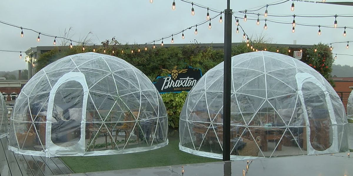 Brews in Igloos: NKY's Braxton Brewing Co. preps for winter amid pandemic