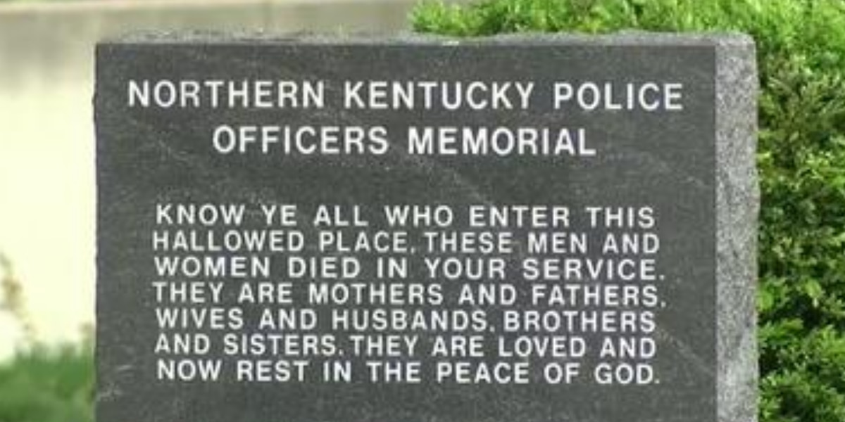 Flags lowered in Ky. to observe Peace Officers Memorial Day