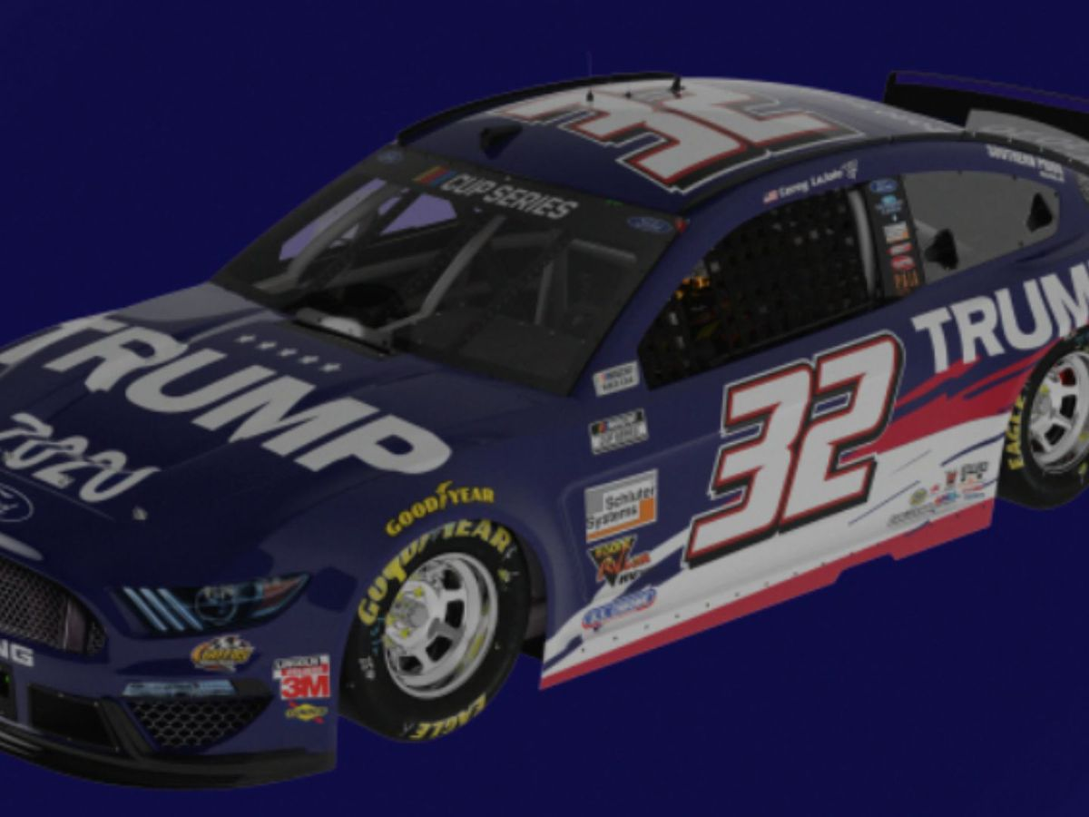 NASCAR driver to race 'Trump 2020' vehicle sponsored by pro-Trump PAC