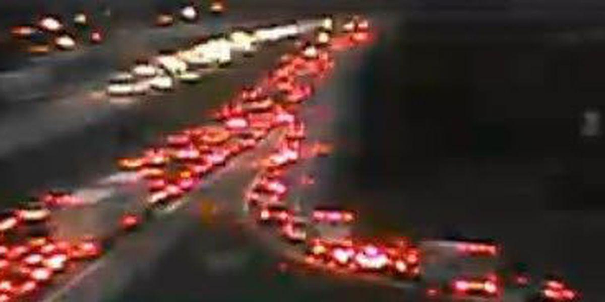 Crash snarls EB I-275 at Hamilton Ave exit
