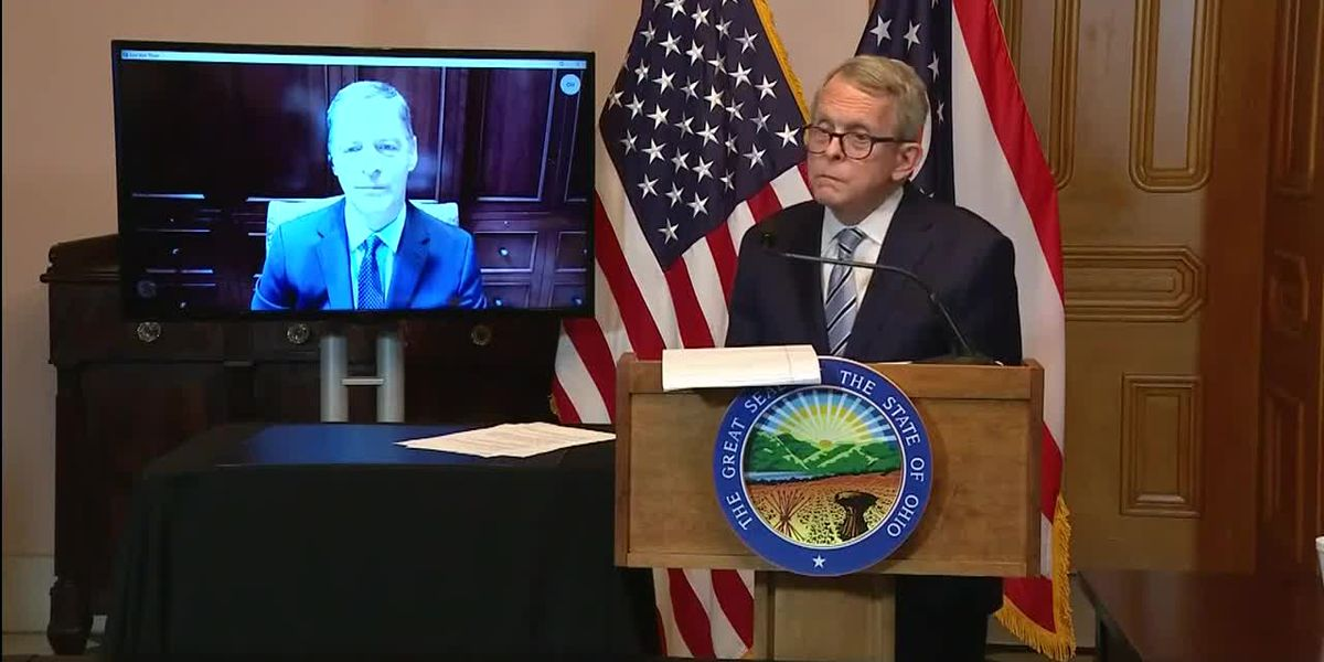 Gov. DeWine gives update on COVID-19