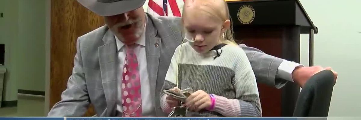 8-year-old with brain cancer becomes Butler County deputy