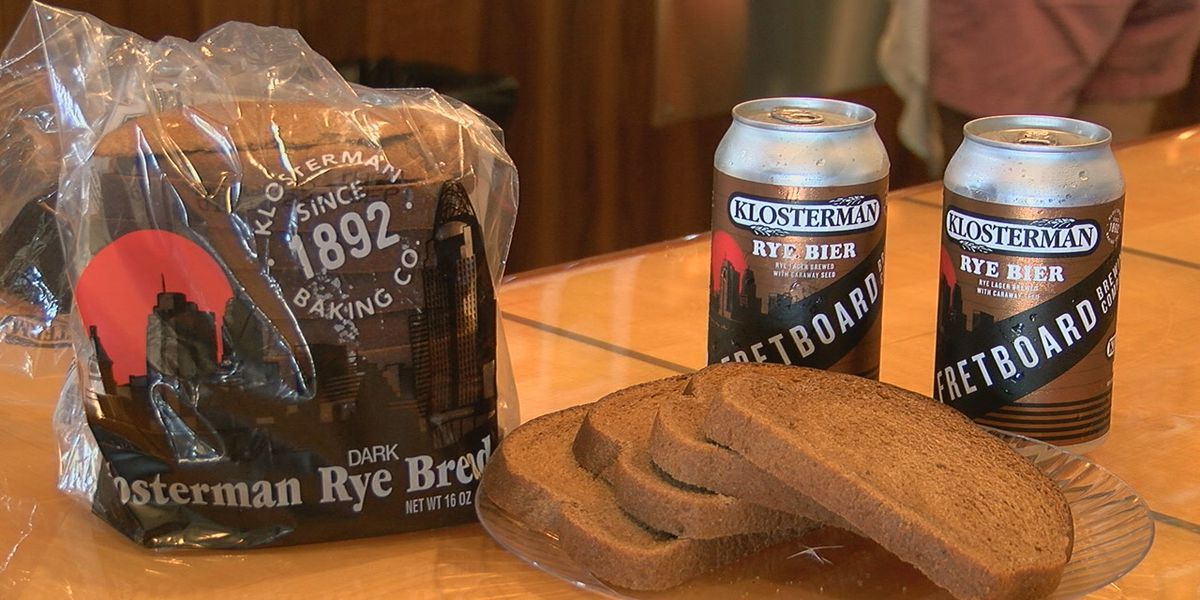 Local brewery, bakery team up for rye bread-inspired beer
