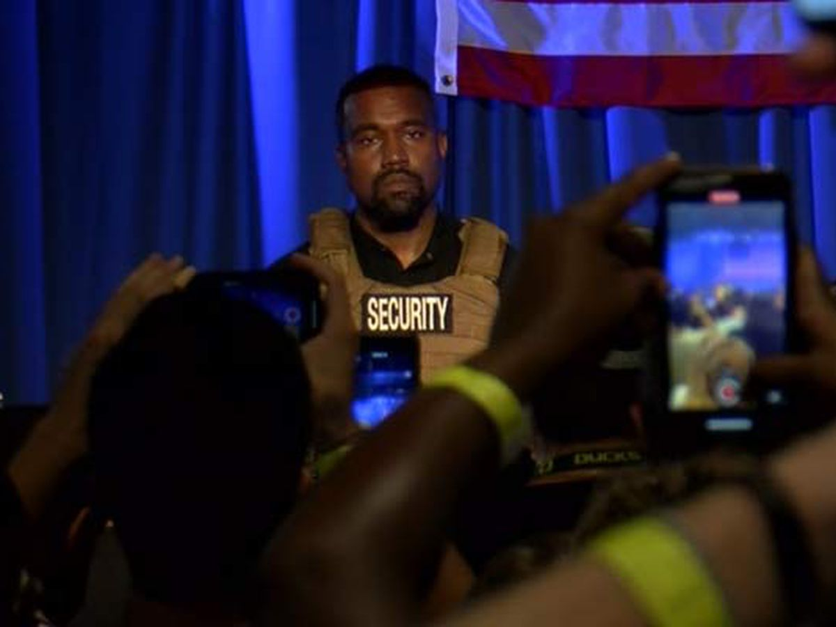 Kanye West files petitions to appear on Ohio ballot