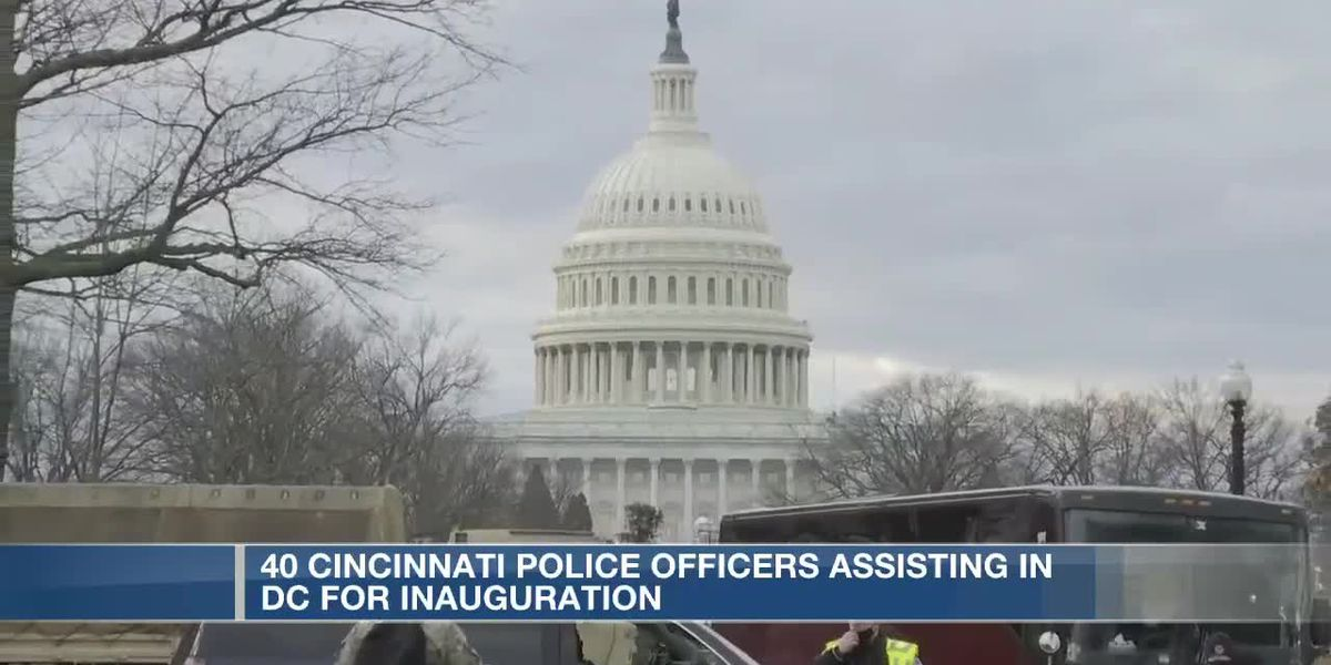 CPD officers arrive in D.C. to help with President-elect Biden's inauguration