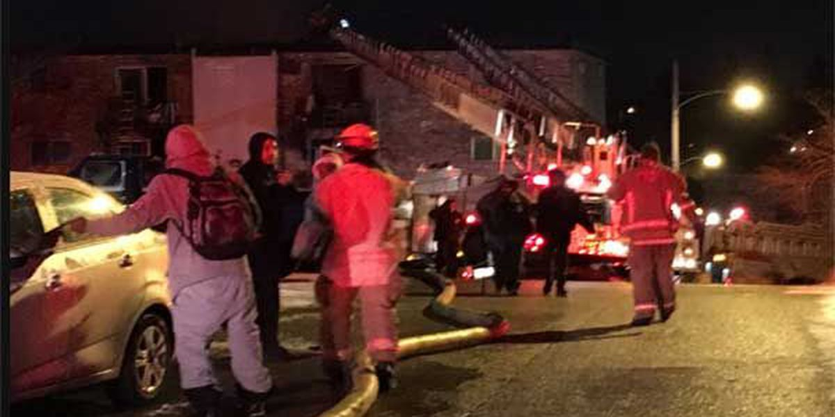 Update: $200K damage in apartment fire that displaced 21