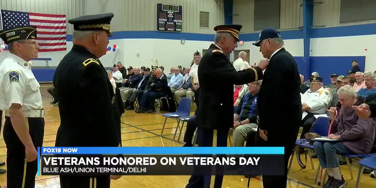 Cincinnati says 'thank you for your service' with Veterans Day events