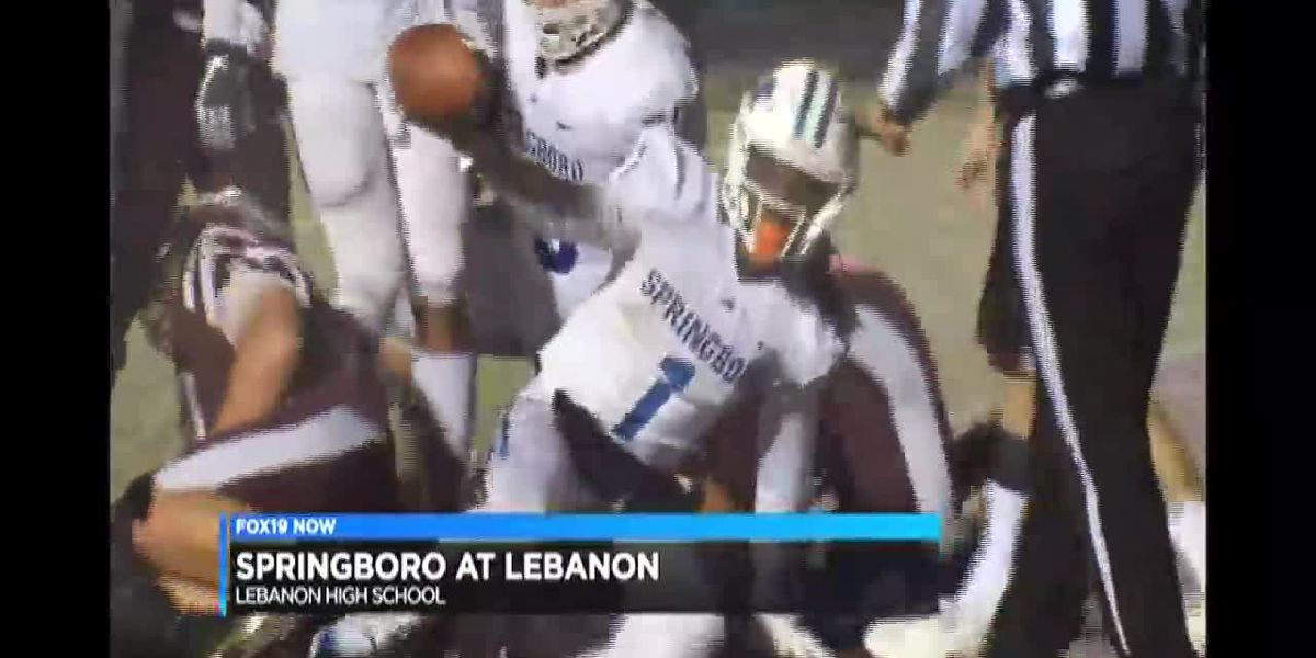 FOX19 NOW Final Quarter: Springboro at Lebanon