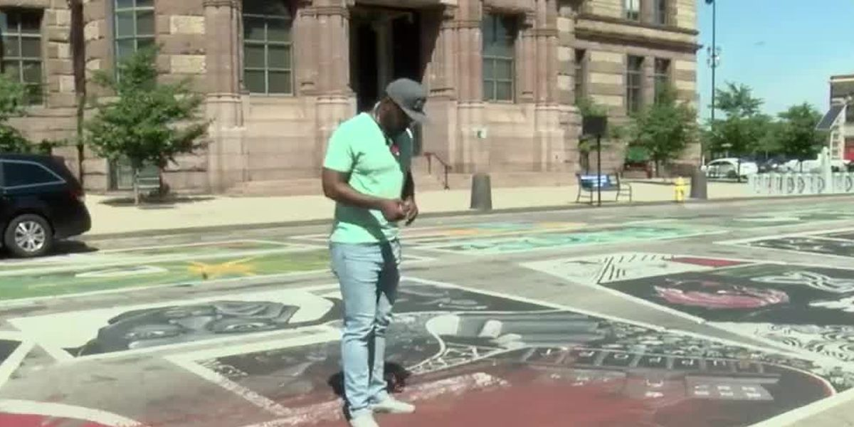 Artist speaks on vandalism of BLM mural: 'This was obviously an act of ignorance'