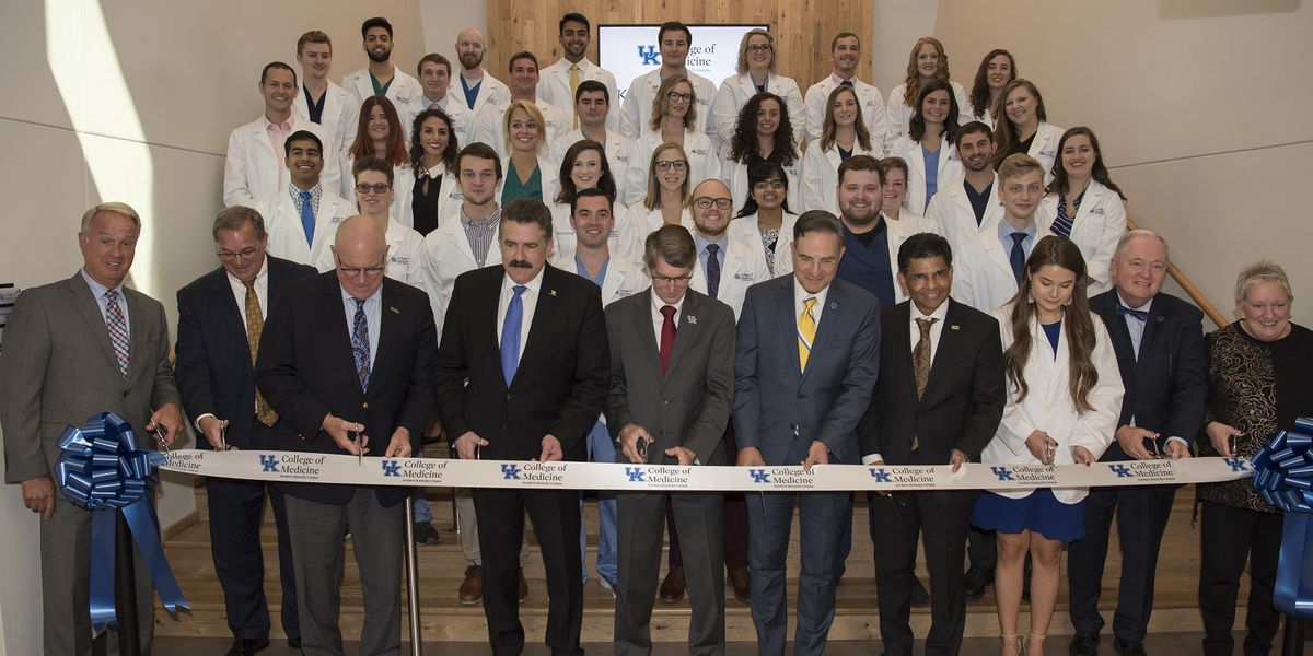 Ribbon cutting ceremony marks official opening of UK College of Medicine-Northern Kentucky campus