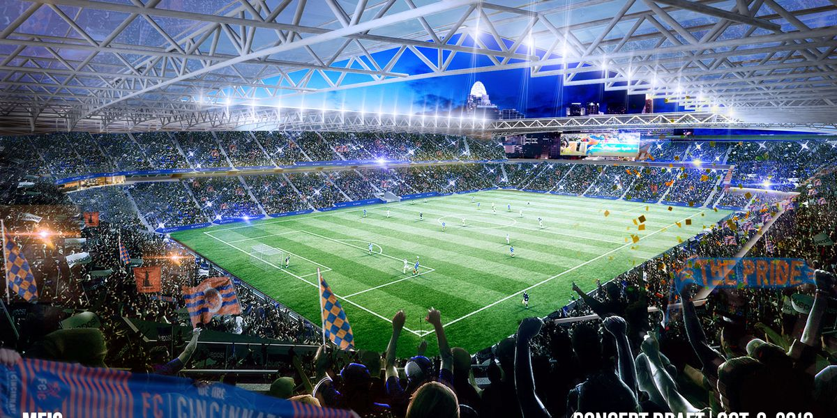 Take a look at FCC's brand new MLS stadium design