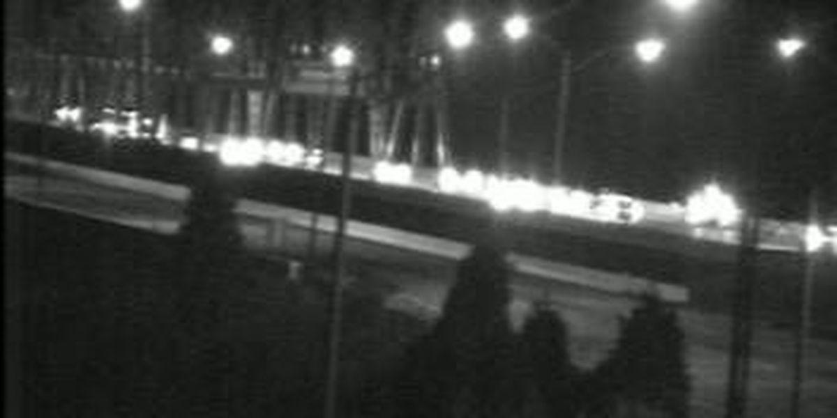 Truck loses load of glass windows WB I-275 on Combs-Hehl Bridge
