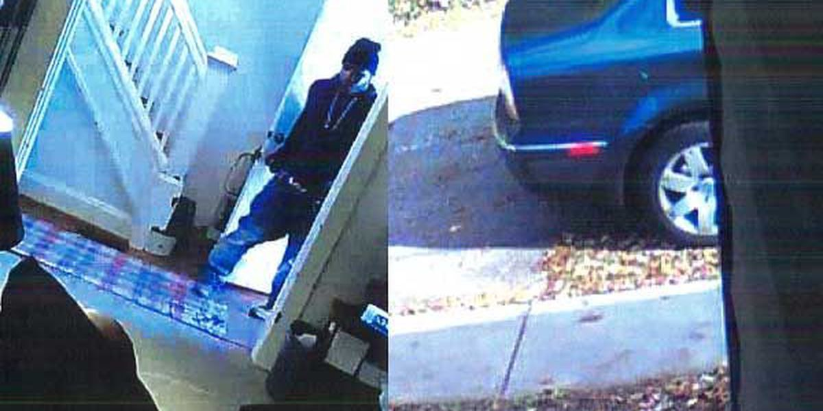 Police searching for two suspects in home burglary