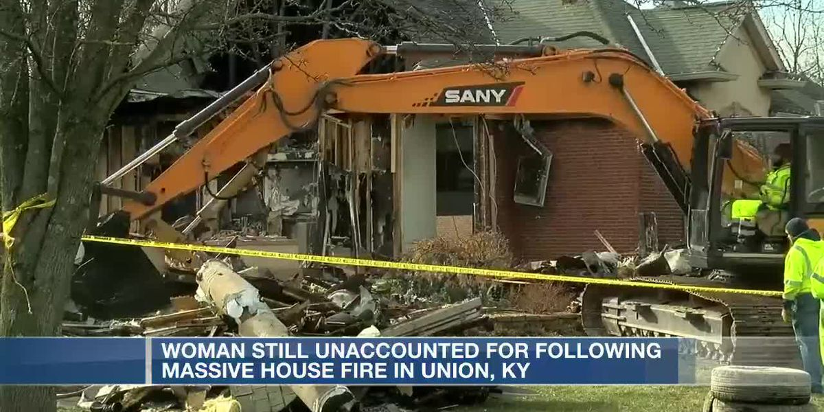 Crews still searching for missing woman in Union, Ky. fire