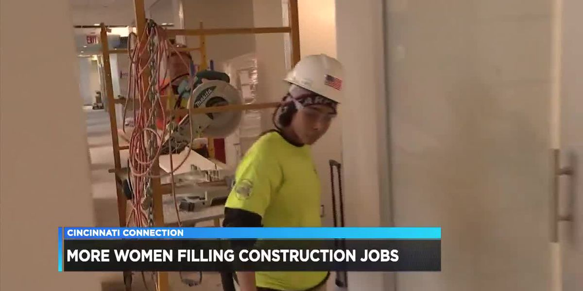 Cincinnati Connection: More Women Filling Construction Jobs