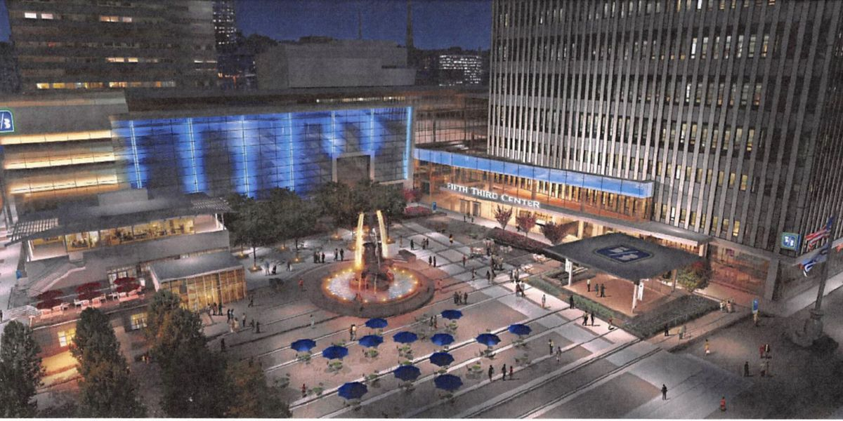 Watch your favorite teams on big screen at Fountain Square