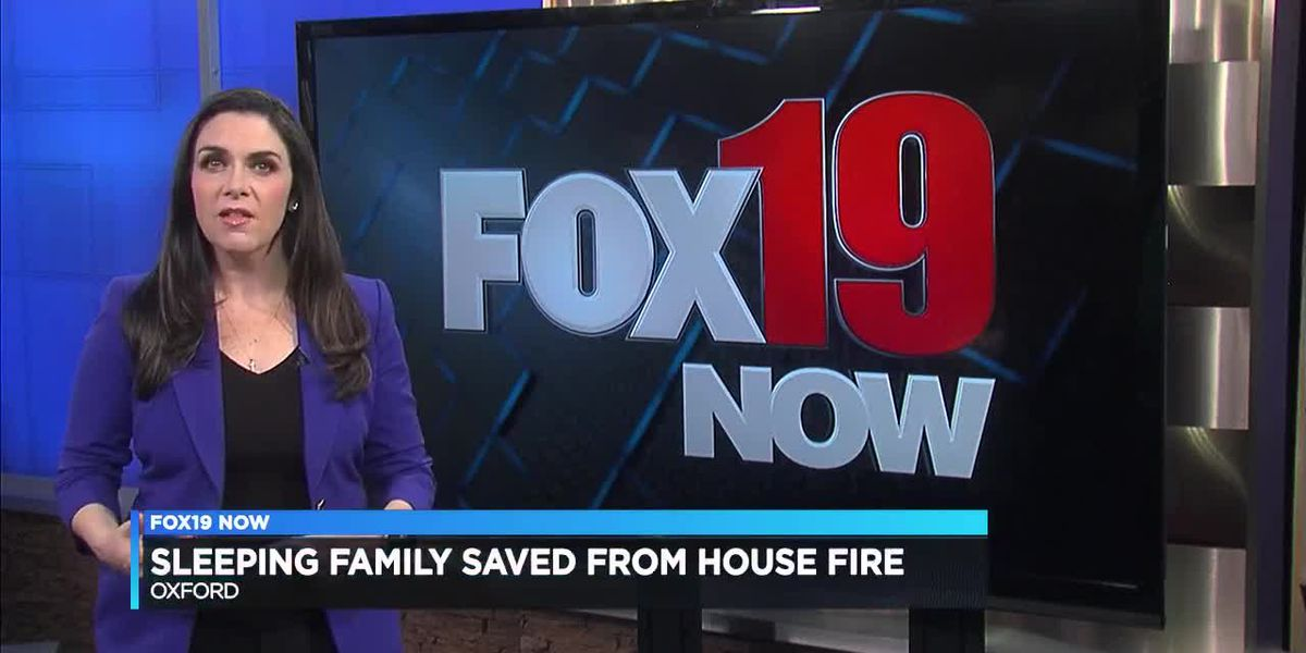 Oxford family survives fire with help from neighbor