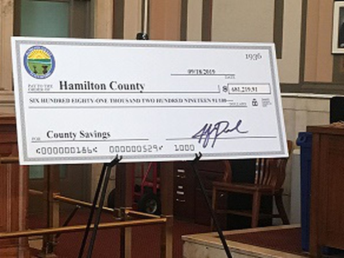 Hamilton Co. finds nearly $700K from unclaimed court case funds