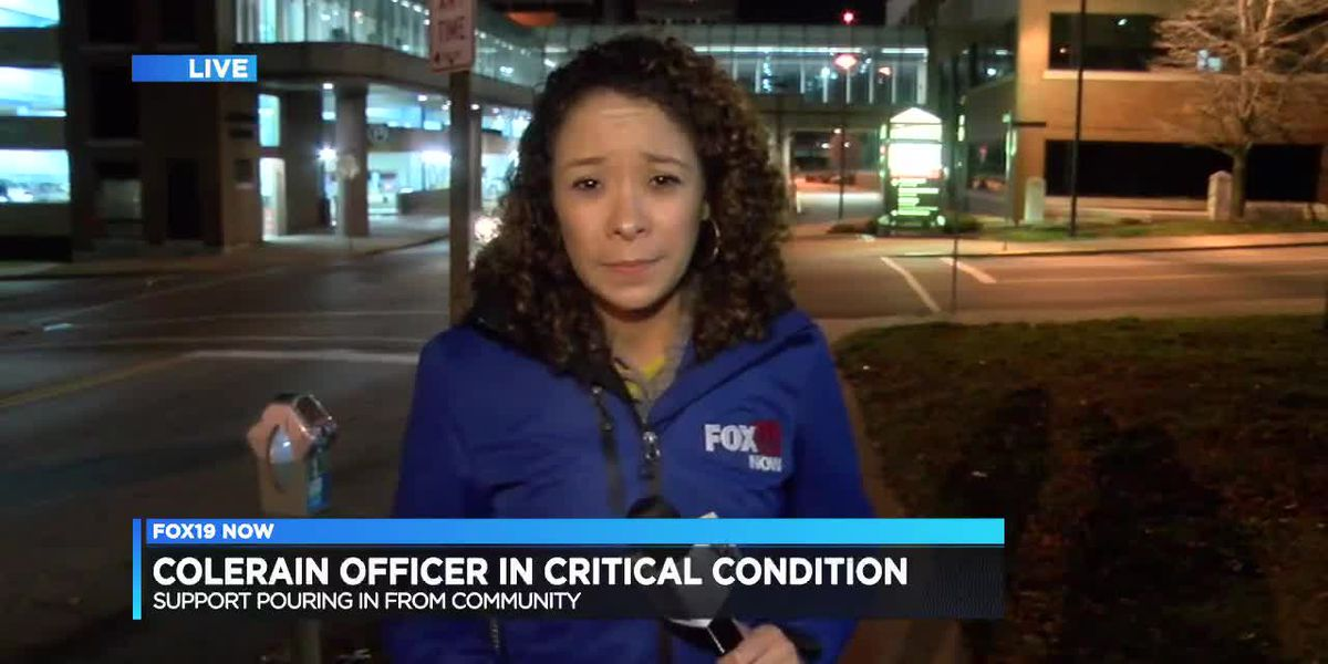 Colerain police officer struck by vehicle identified