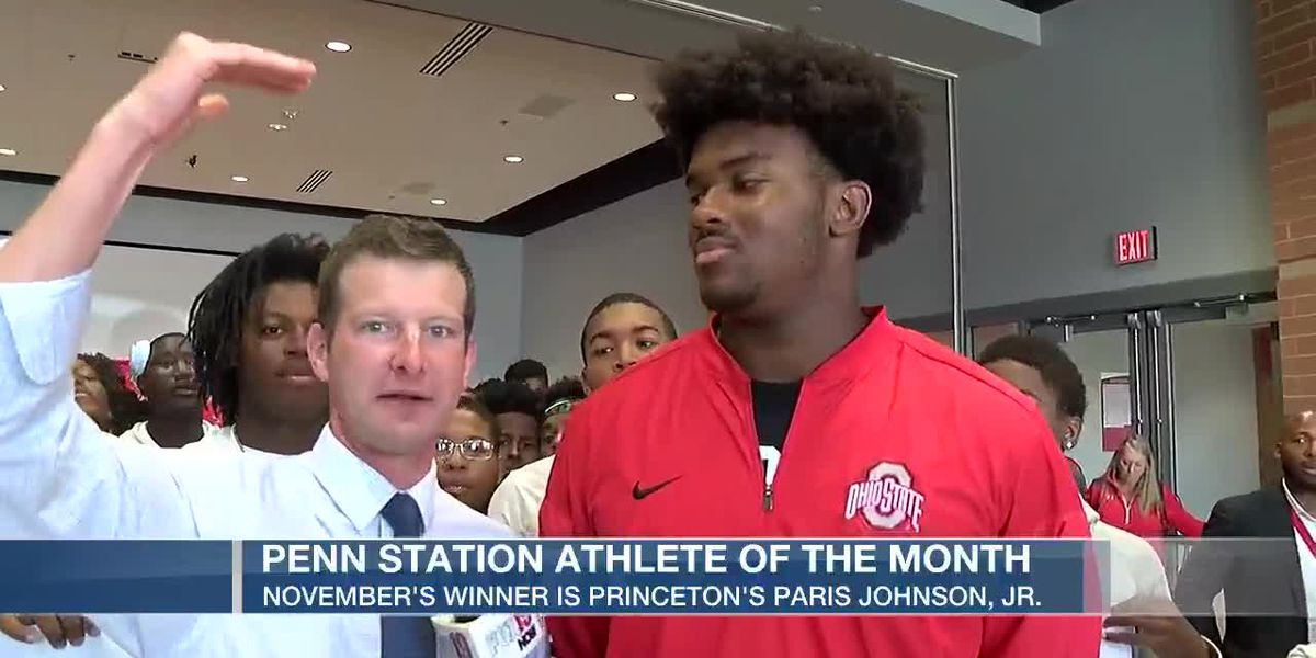 November Penn Station Athlete of the Month