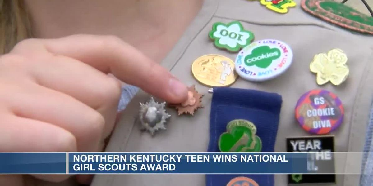 Ludlow teen wins Girl Scouts national award