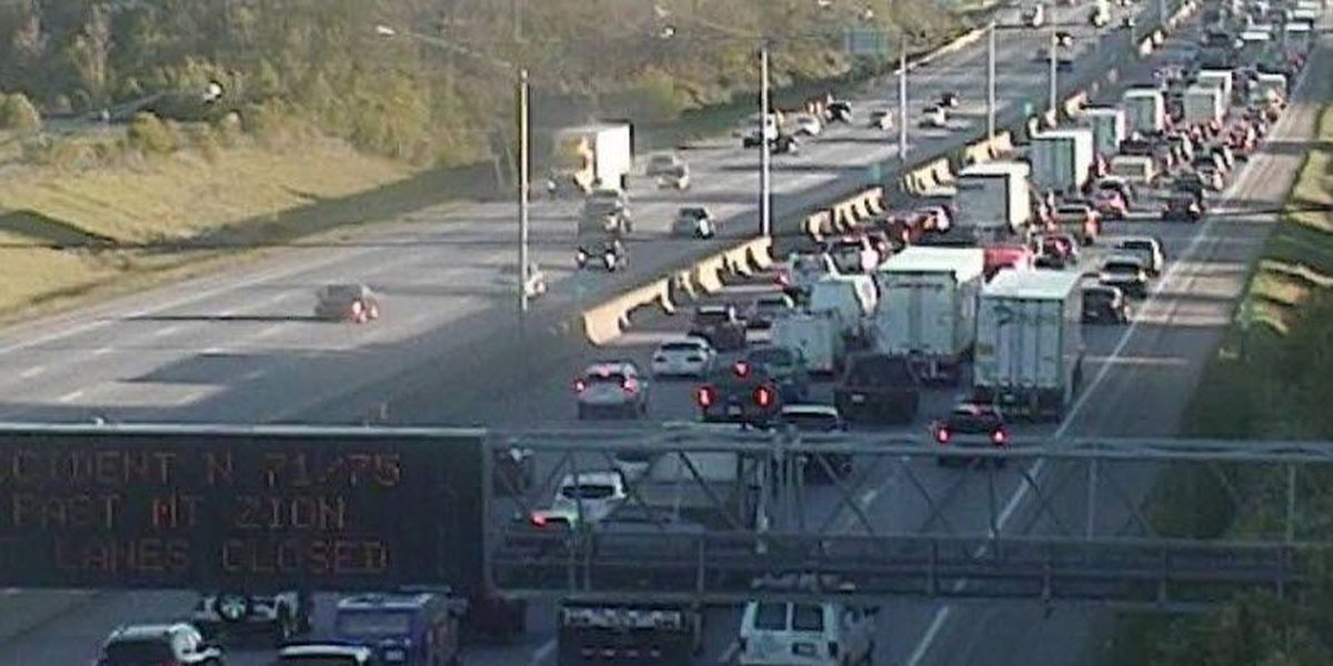 Disabled semi slows NKY commute into Downtown