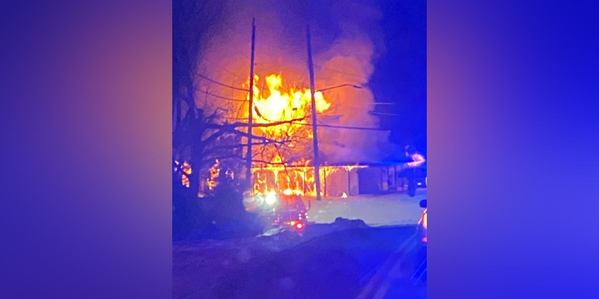 House a total loss after fire occurs in Colerain Twp.