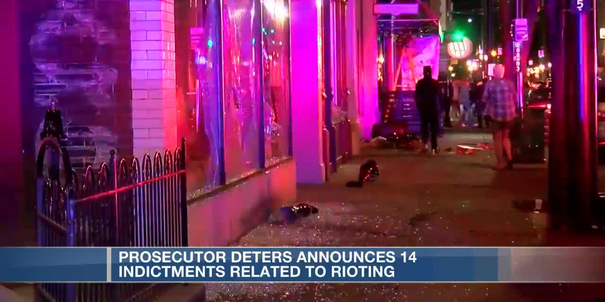 Hamilton County Prosector Joe Deters announces 14 indictments related to 'riots'