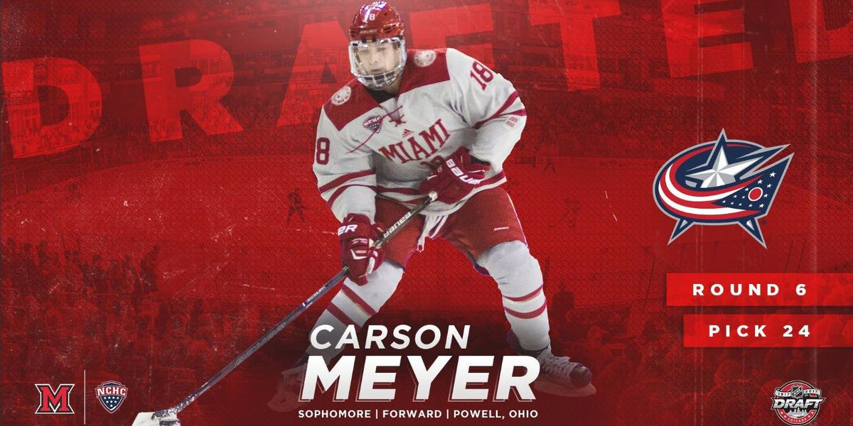 Miami's Carson Meyer selected in NHL Draft