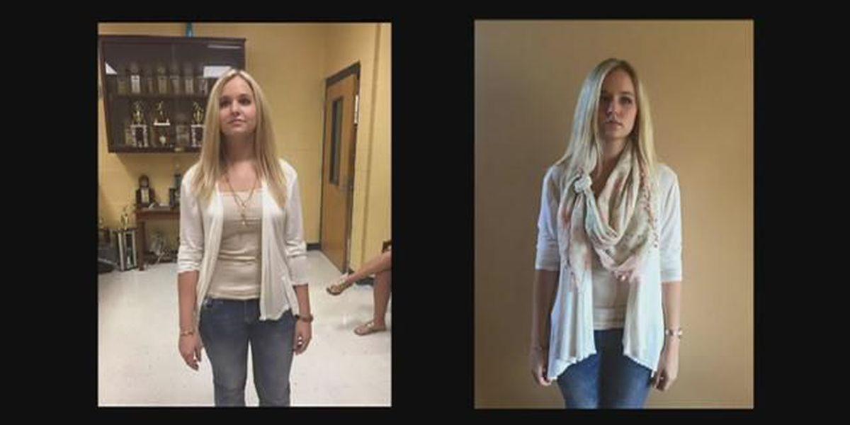Kentucky students fight 'no collarbone' dress code