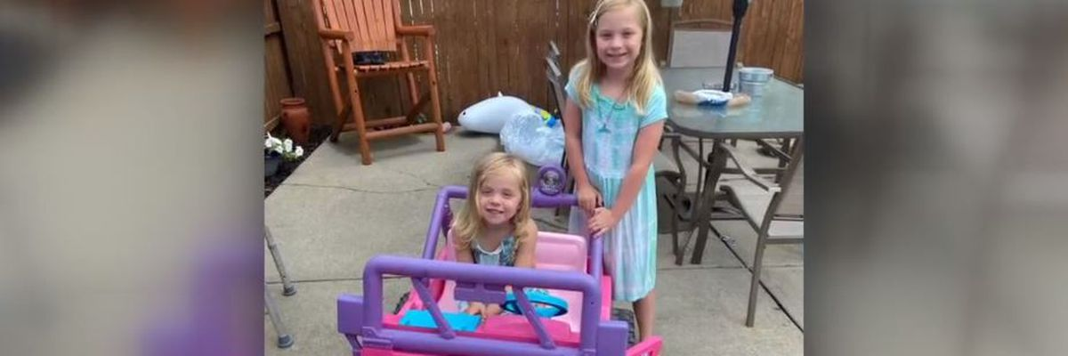 3-year-old receives toy jeep donation after hers was stolen