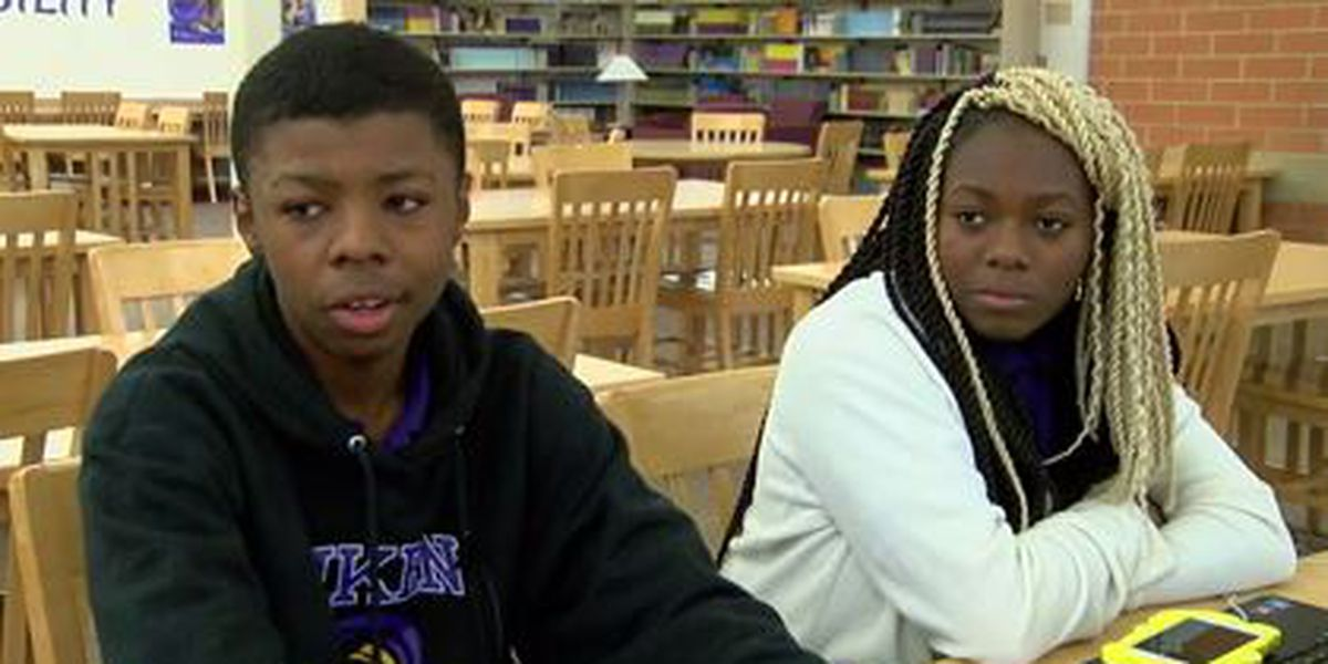 Aiken student credits sister for good deed that went viral: 'She's the brains, I'm the brawn'