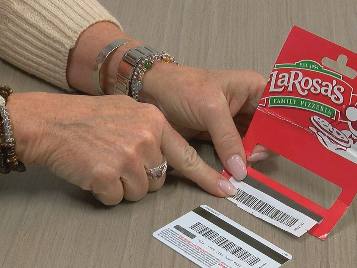 Scratch your gift cards: Police warn of bar code scam ahead of holidays