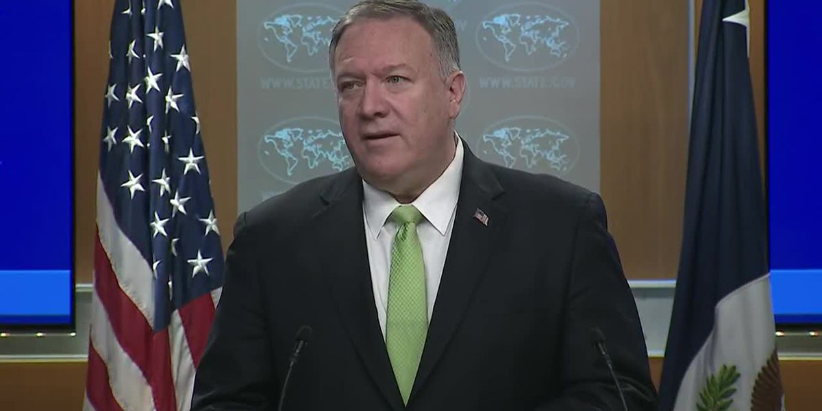 Pompeo announces new Iran sanctions