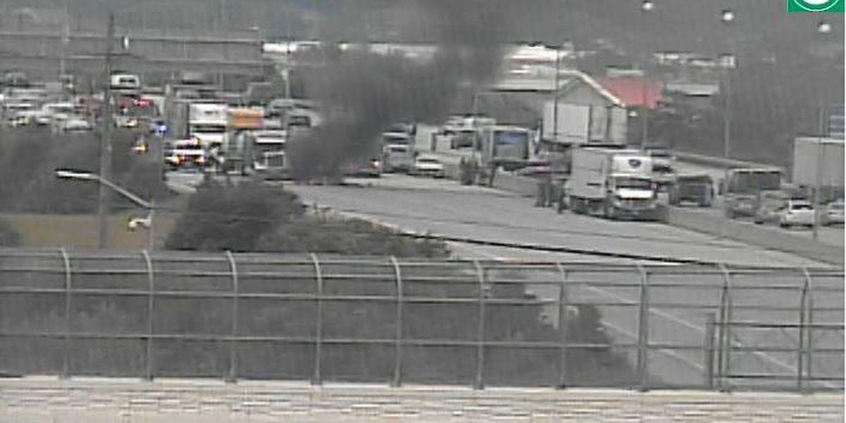 1 killed in fiery crash on I-275 in Springdale