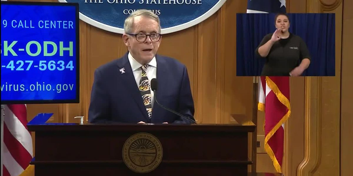Ohio governor calls for federal help with testing materials