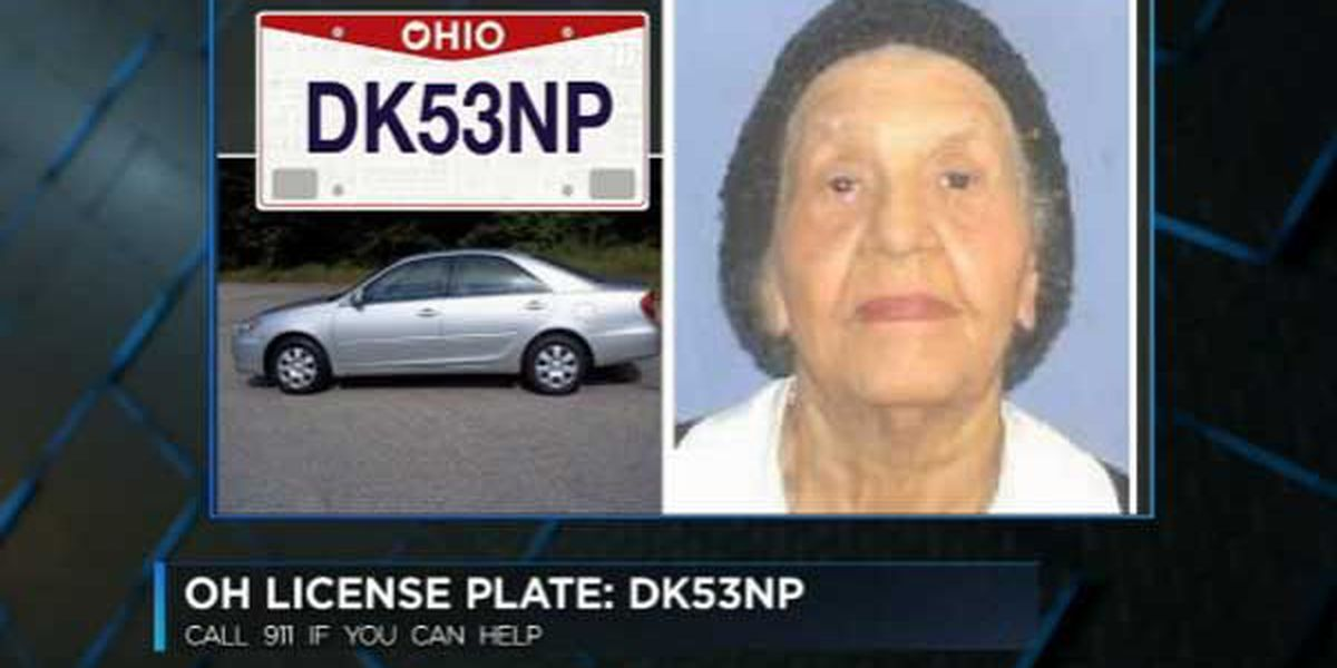Missing Dayton woman, 88, found in Indiana