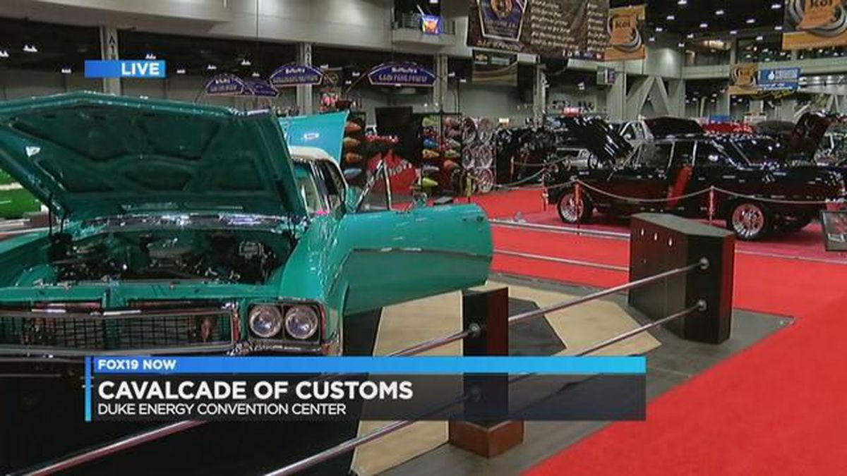 Calvacade Of Customs At Duke Energy Convention Center - Car show duke energy center