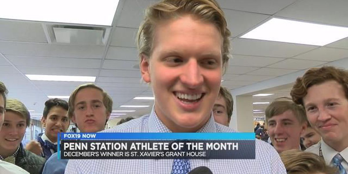 December's Penn Station Athlete of the Month: Grant House of St. Xavier