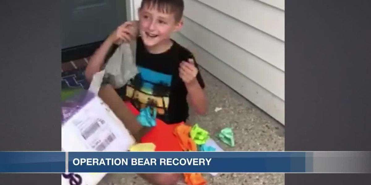 Kentucky boy reunited with teddy bear lost at CVG