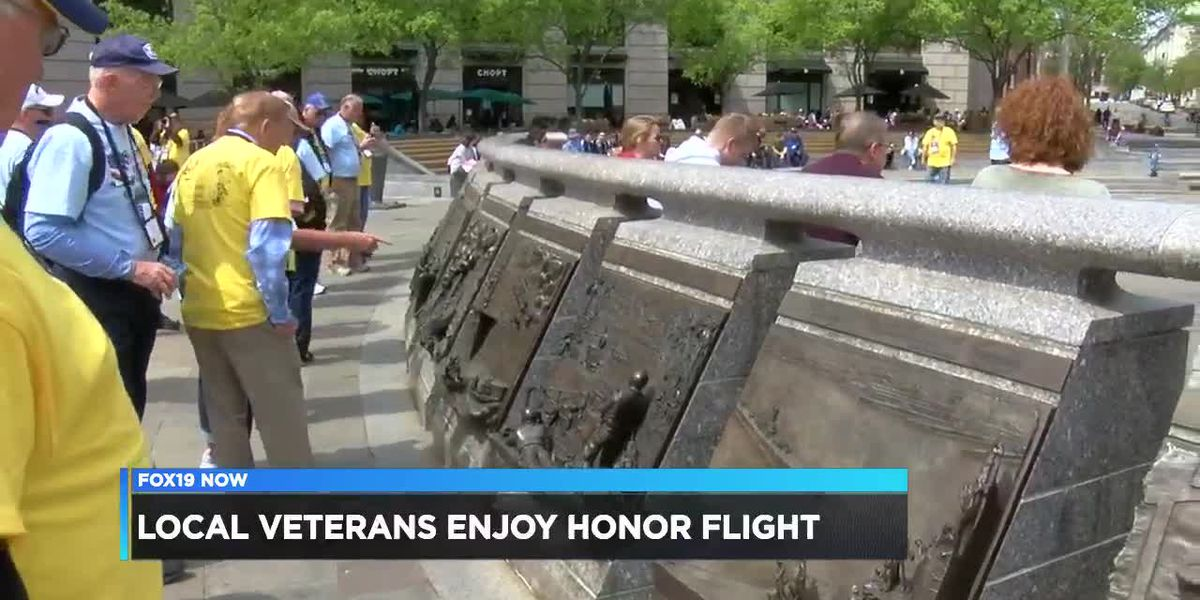 Local veterans enjoy honor flight