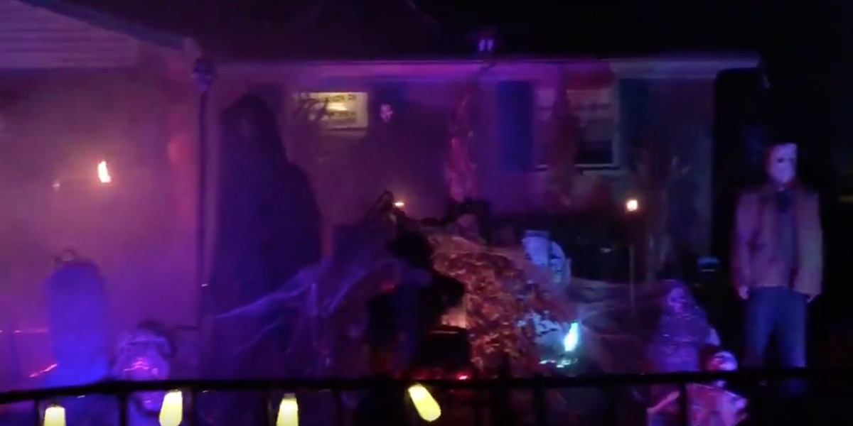 Tri-State house takes 'trick-or-treat' experience to whole new level