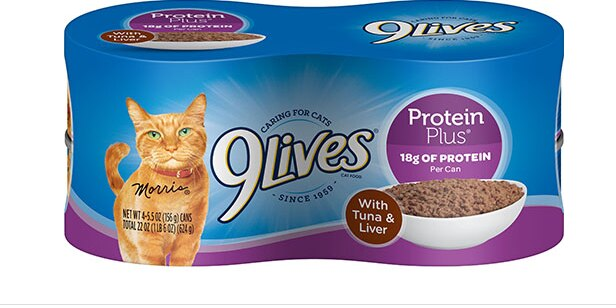 FDA recalls specific lots of 9Lives Protein Plus cat food